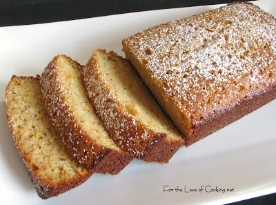 Lemon Poppy Seed Cake Bread