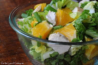 Spicy Orange Chicken Salad