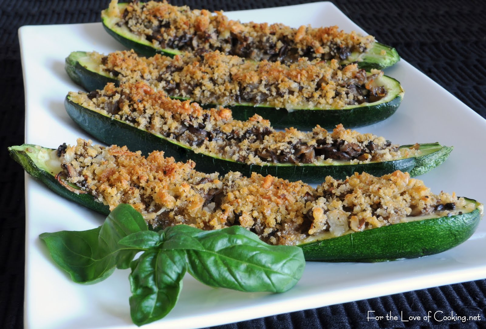 zucchini croque mademoiselle stuffed zucchini is one of the vegetarian ...