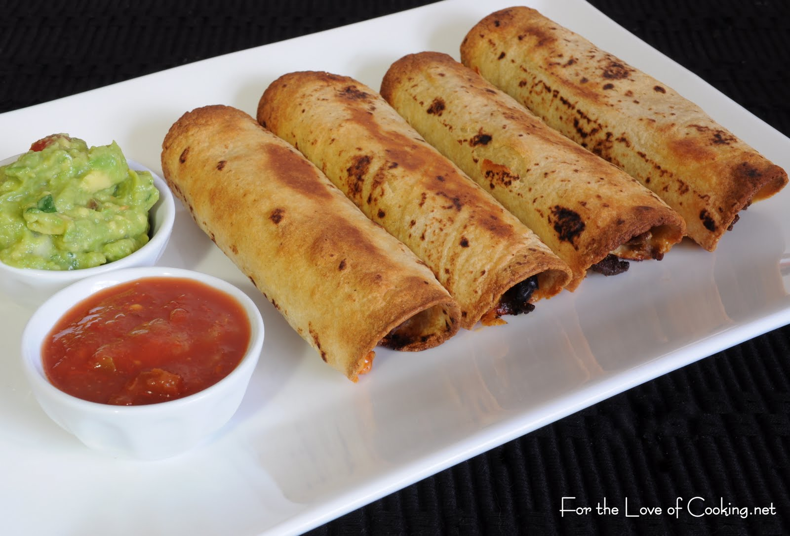 Ground beef black bean and cheddar cheese taquitos for for Different meal ideas for ground beef