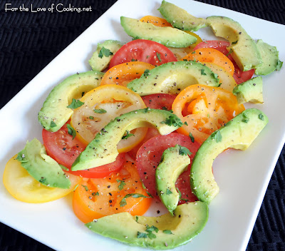 Avocado and Tomato Salad