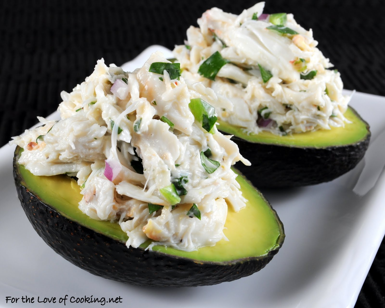 Cilantro and Lime Crab Salad in Avocado Halves | For the ...