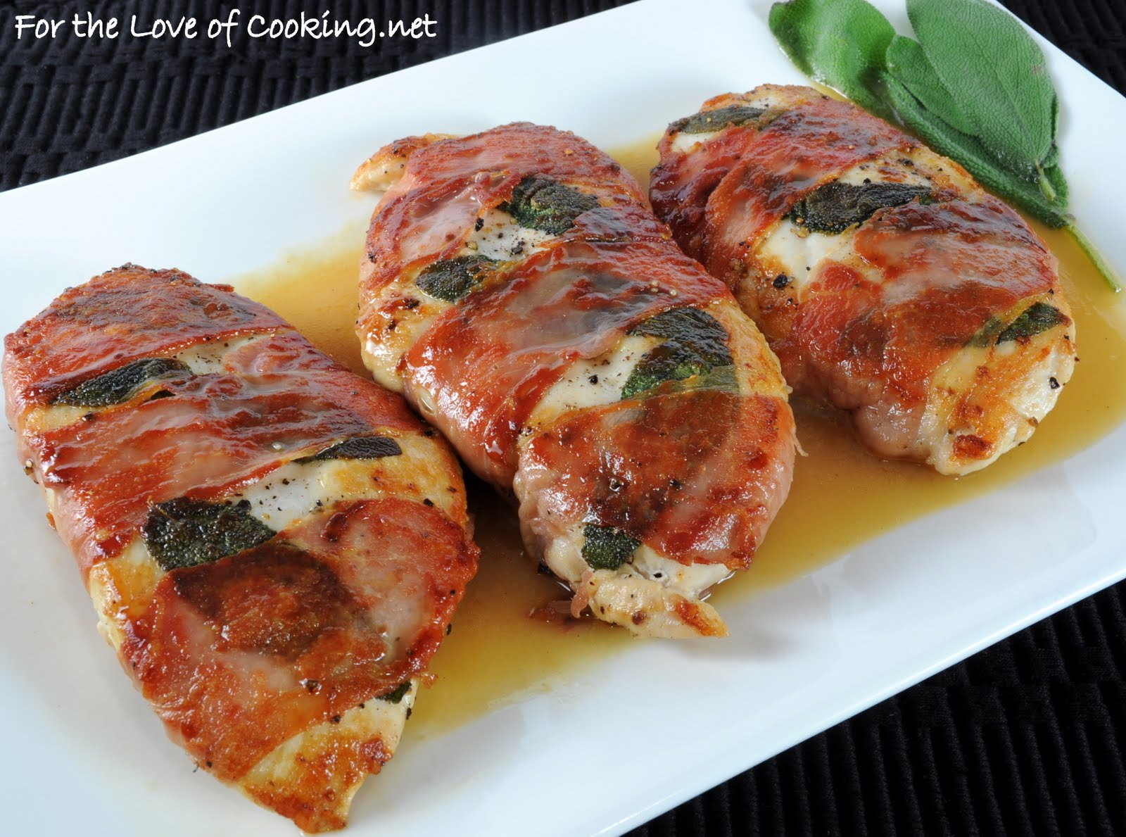lemony chicken saltimbocca for the love of cooking