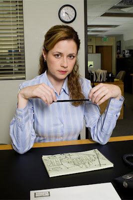 Pamela Beesly Is A Fictional Character On The US Television Sitcom Office Played By Jenna Fischer Her Counterpart In Original UK Series Of