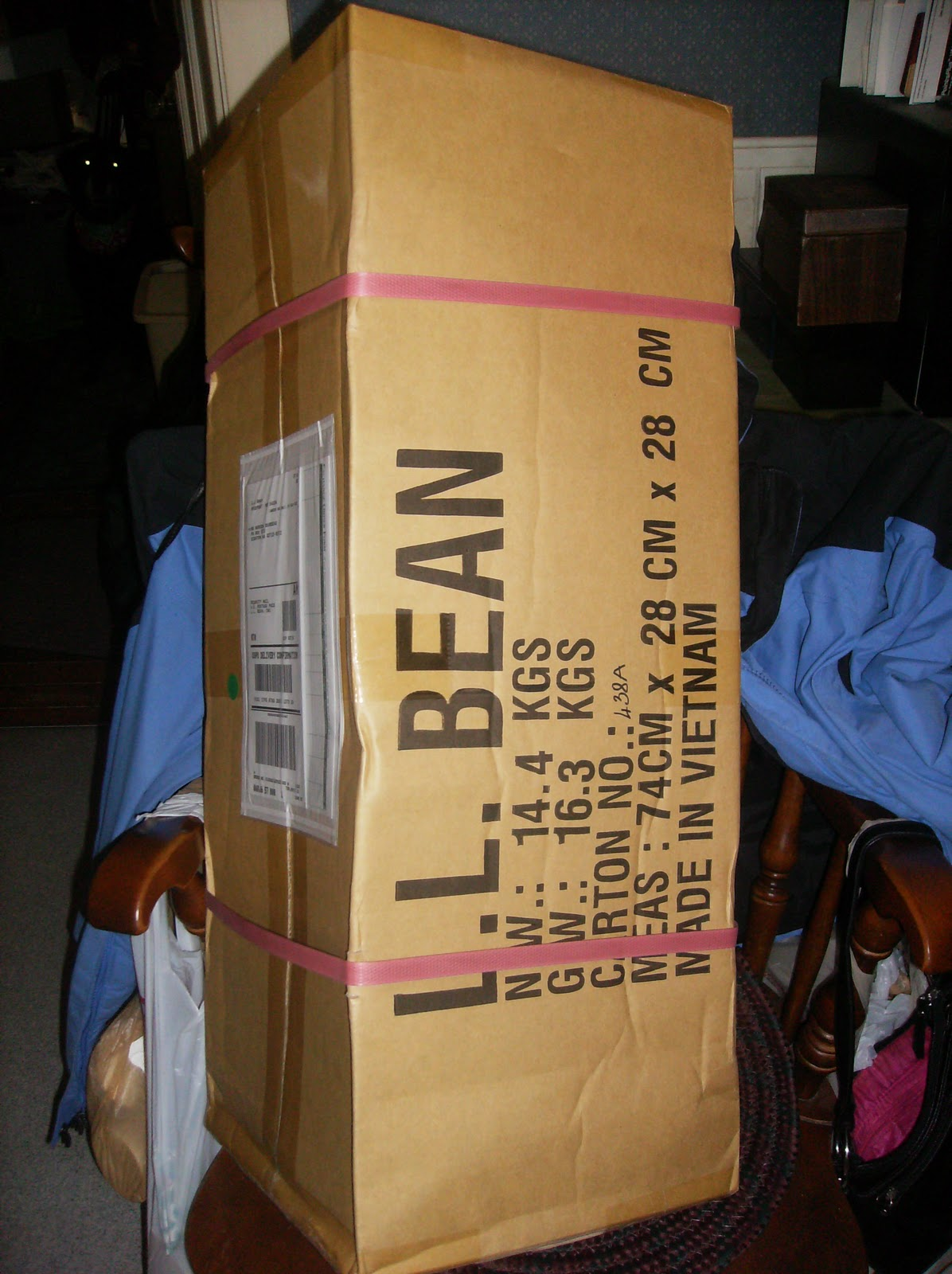 Yes thatu0027s right............itu0027s my new King Pine Dome Tent from LL Bean!!!!!! I know....it doesnu0027t look like much in the box but boy with it serve me ... & A Girl and Her Tent: January 2011