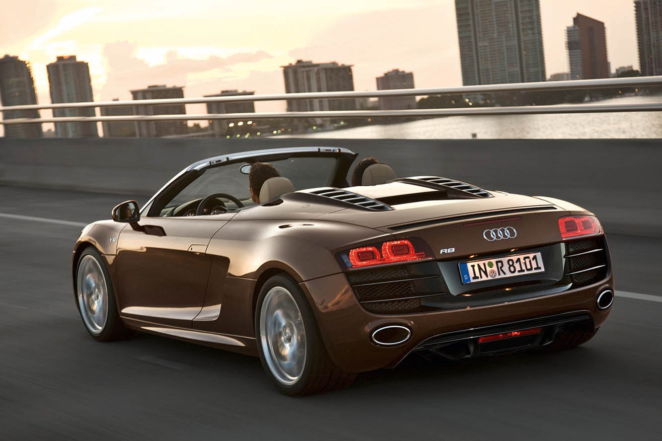 cars photos wallpapers audi r8 v10 spyder photos and wallpapers. Black Bedroom Furniture Sets. Home Design Ideas