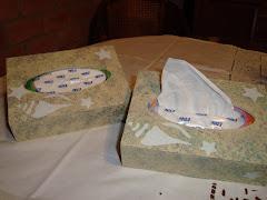 Porta caja de papel tissue