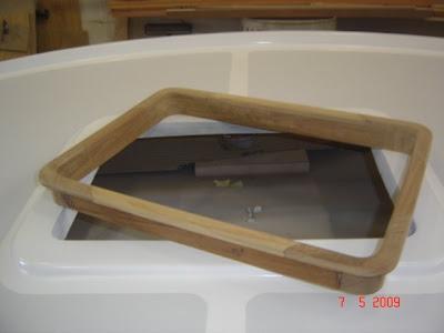Making a boat hatch gaskets