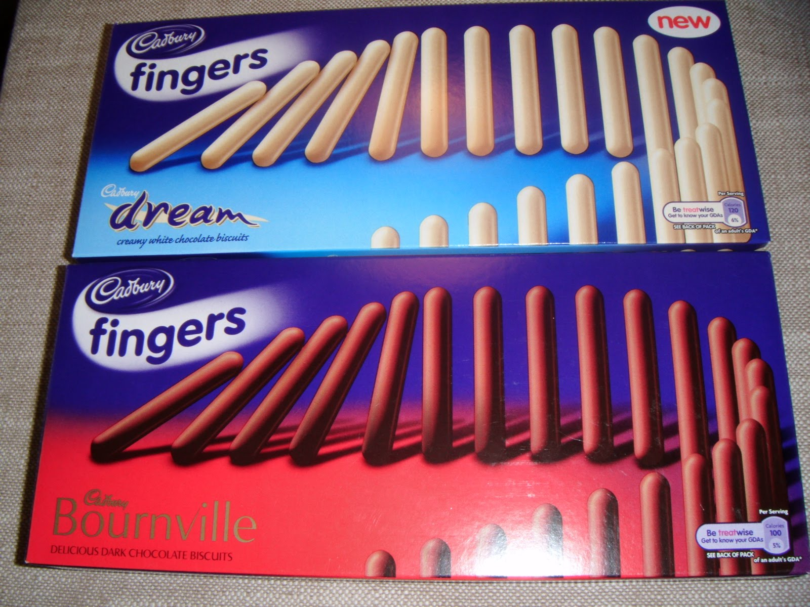 White apron sainsburys - These Two Boxes Of Cadbury S Fingers Caught My Eye In The Supermarket Especially That Magic Word On The Box Of White Chocolate Fingers New