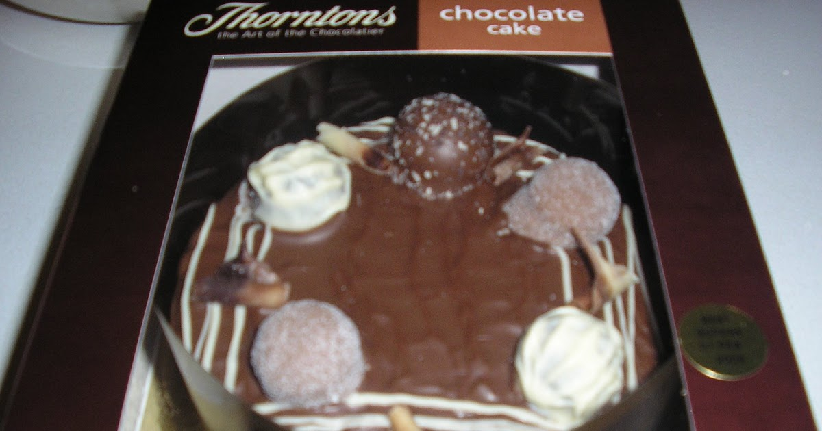 Sainsbury S Christmas Cake Decorations : FOODSTUFF FINDS: Thornton s Chocolate Cake (Sainsbury s)