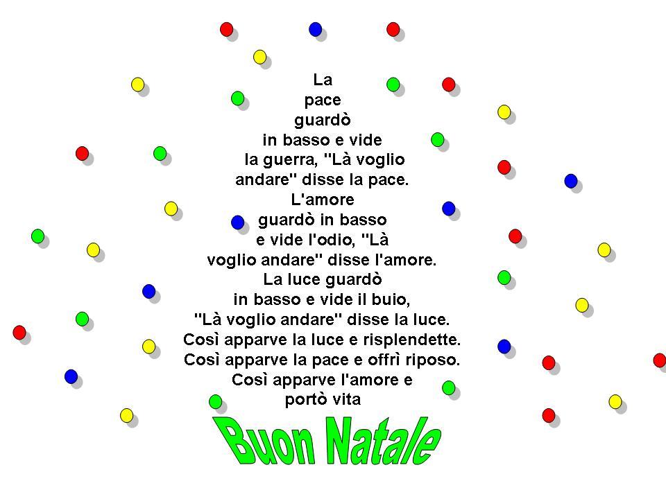 Cadeaux d 39 amis poesia di natale for Abbellire la classe per natale
