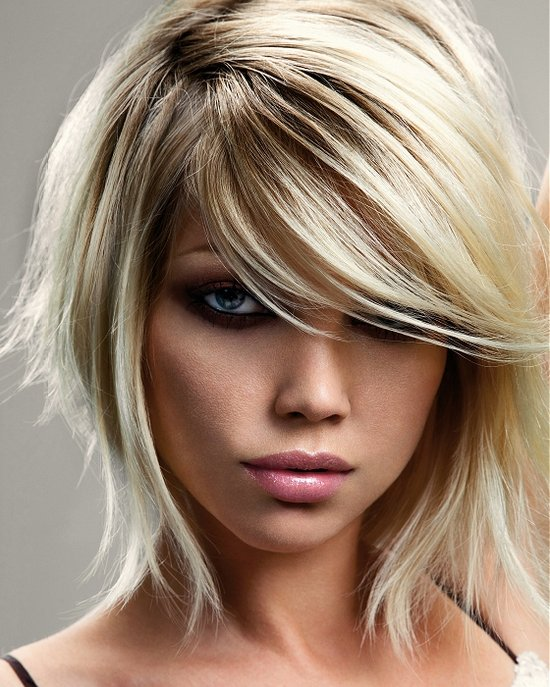 black hair with blonde underneath pictures