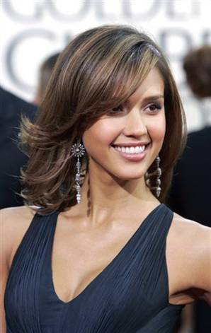 jessica alba updo hairstyles