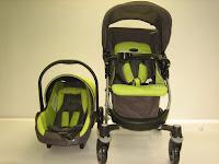 Travel System Baby Stroller Pliko PK528 Alpina