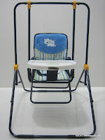 Baby Swing PLIKO PK202 with Toys Sets