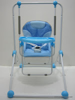 Baby Swing PLIKO PK206 with Front Tray