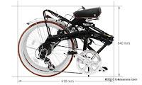 Sepeda Lipat DOPPELGANGER 302 STADSPIN