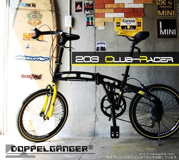 BINTANG HARAPAN Sepeda Lipat DOPPELGANGER 203 CLUBRACER