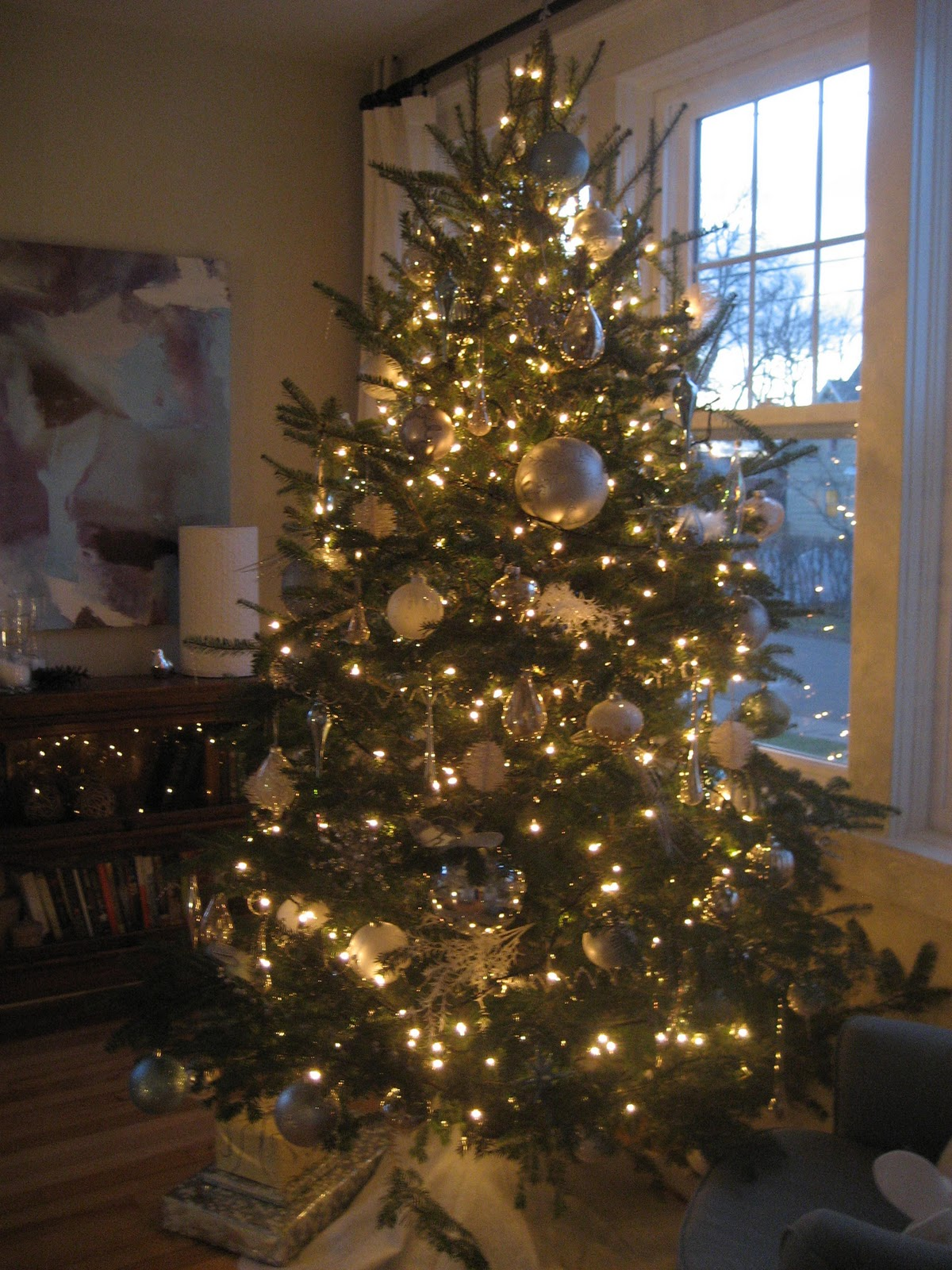 String Lights Dollarama : modern jane: House Tour Recap - The Trimmed Tree(s)