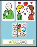 Este blog utiliza pictogramas de Araasac