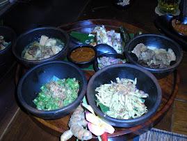 伝統のバリ島料理