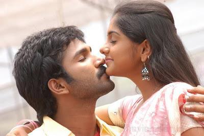 meera nandan lip kiss, meera nandan hot kiss in ayyanar, meera nandan aadhi