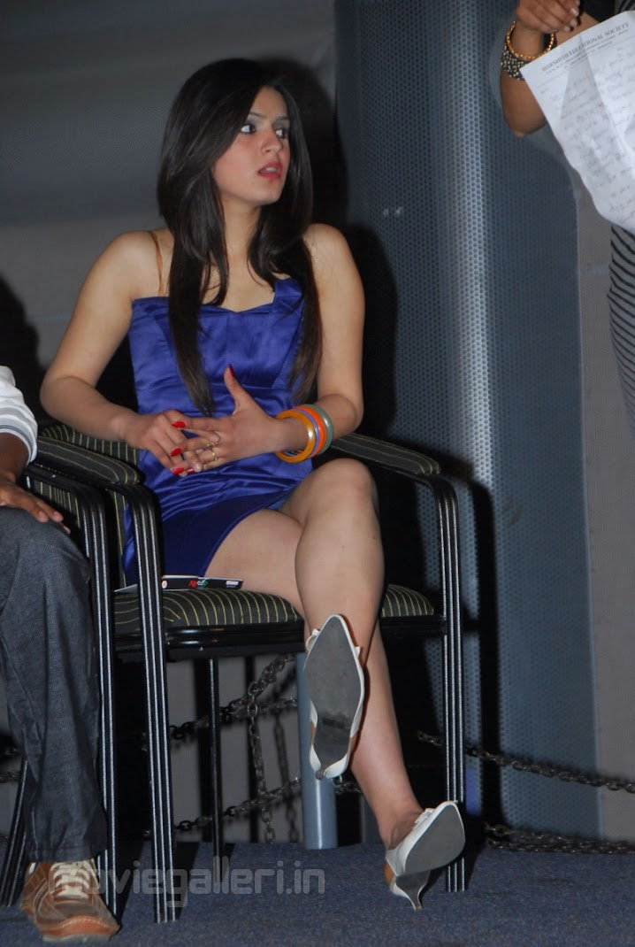 Shefali Sharma Hot Pics at Galli Kurrollu Audio Release