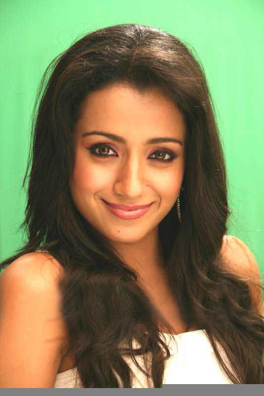 Trisha Mankatha Movie Face Close Up Stills