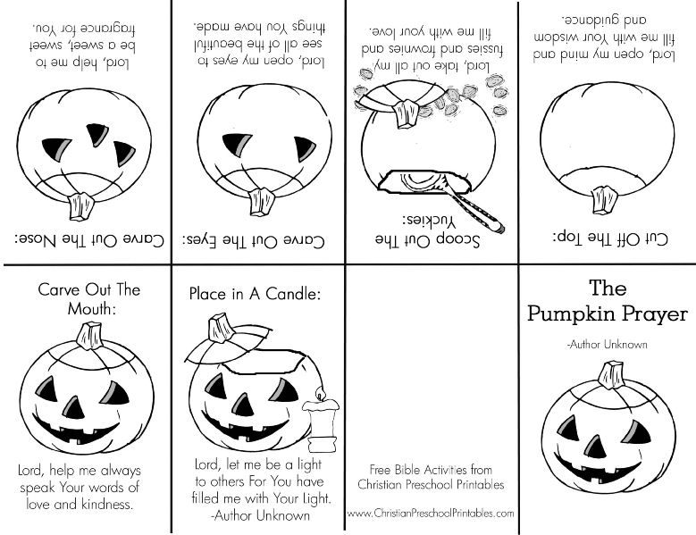 Gorgeous image regarding pumpkin gospel printable