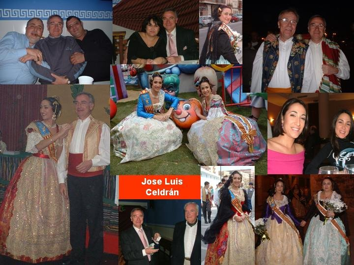 EL ALBUM FALLERO DE .... JOSE LUIS CELDRAN, FUE PRESIDENTE DE CONSERVA-BERENGUER MALLOL