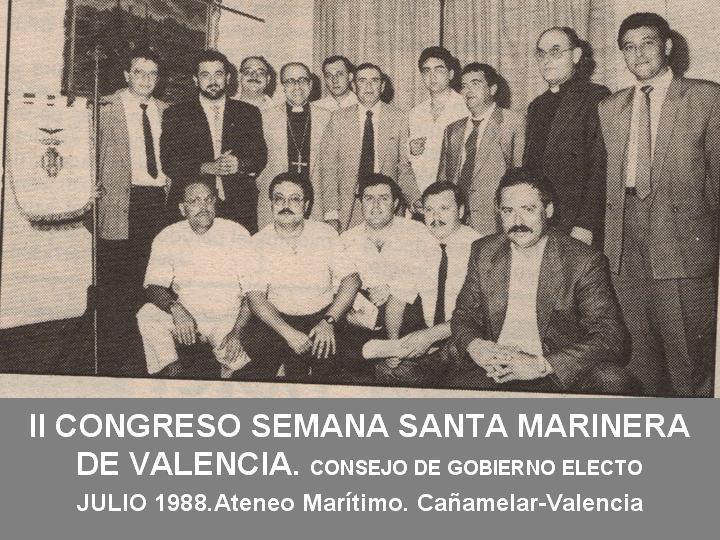 CONSEJO DE GOBIERNO DE LA JUNTA MAYOR DE LA SEMANA SANTA MARINERA