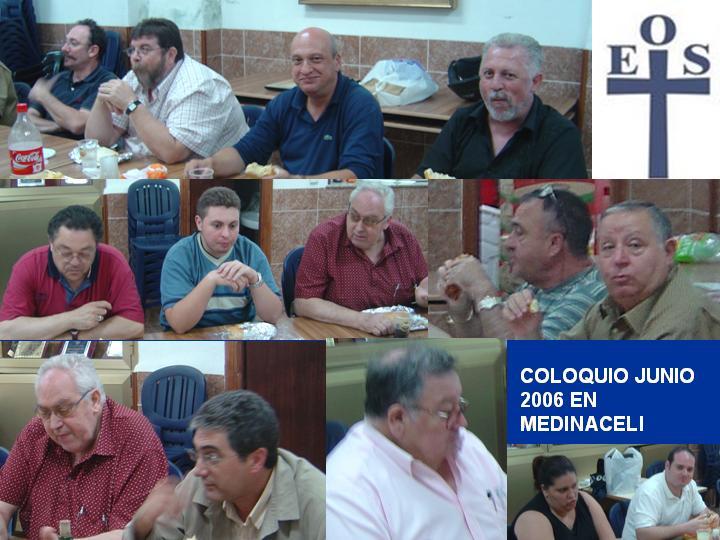 COLOQUIO DE EOS JUNIO 2006 EN MEDINACELI