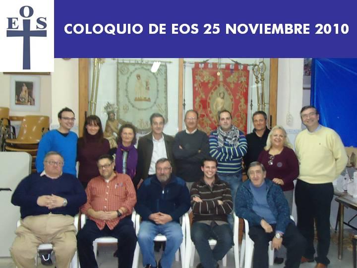 COLOQUIO DE EOS ULTIMO DE 2010