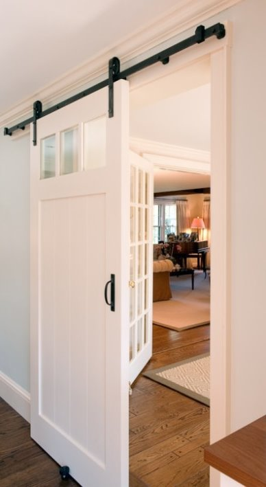You know I have a thing for interior sliding barn doors . I especially ...