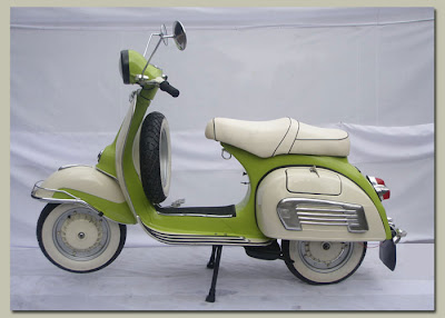 Motor Matic Vespa on Vespa Alfanky  Classic Vespa Scooter From 1972