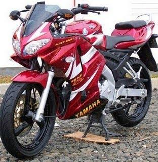 Modifikasi Lampu Motor Yamaha Vixion
