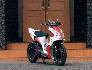 Foto Modifikasi Motor Yamaha Mio Sporty