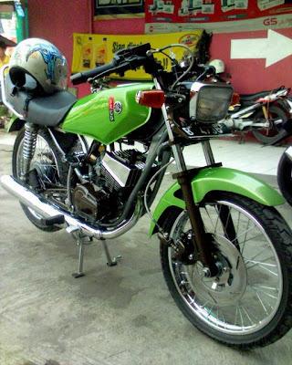 terbaru modifikasi motor rx king solo