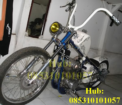 picture Kawasaki Binter Mercy Modified Chopper