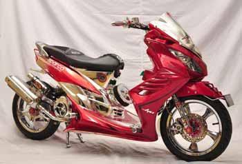 Gallery Foto Modifikasi Motor Yamaha Mio Soul 2011