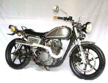 used motor of Kawasaki Binter Merzy 1981 modif
