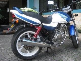Suzuki thunder 250 gsx modif standart