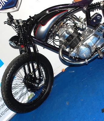 modif extreme Honda 1976 CB 200 cc