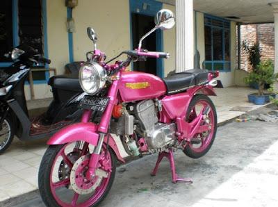 Honda CB 100 Modified Trail
