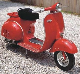Modif Vespa Kentus Classic Scooter