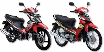 Compare Suzuki type Titan 115 vs Smash