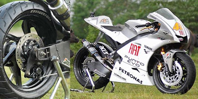 modif Yamaha V-ixion to M1 STYLE