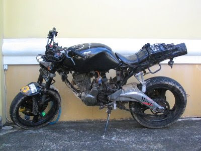 Modif Honda Tiger Touring bike