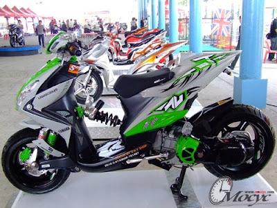 Xeon GT Modif Yamaha Xeon 125 green