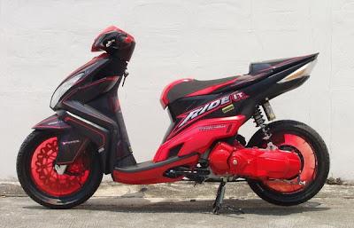 volcano Concept Modif Yamaha Xeon 125 2010